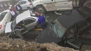 Тежка верижна катастрофа в Мексико с над 50 автомобила