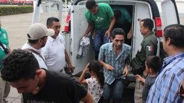В Мексико спасиха и арестуваха десетки нелегални мигранти