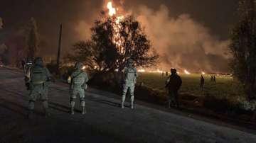 Взрив на тръбопровод в Мексико, има загинали и ранени