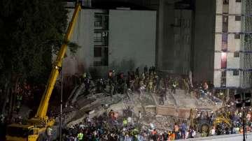 Увеличава се броят на загиналите след земетресението в Мексико