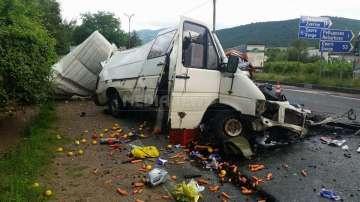 Мъж загина при катастрофа край село Ребърково