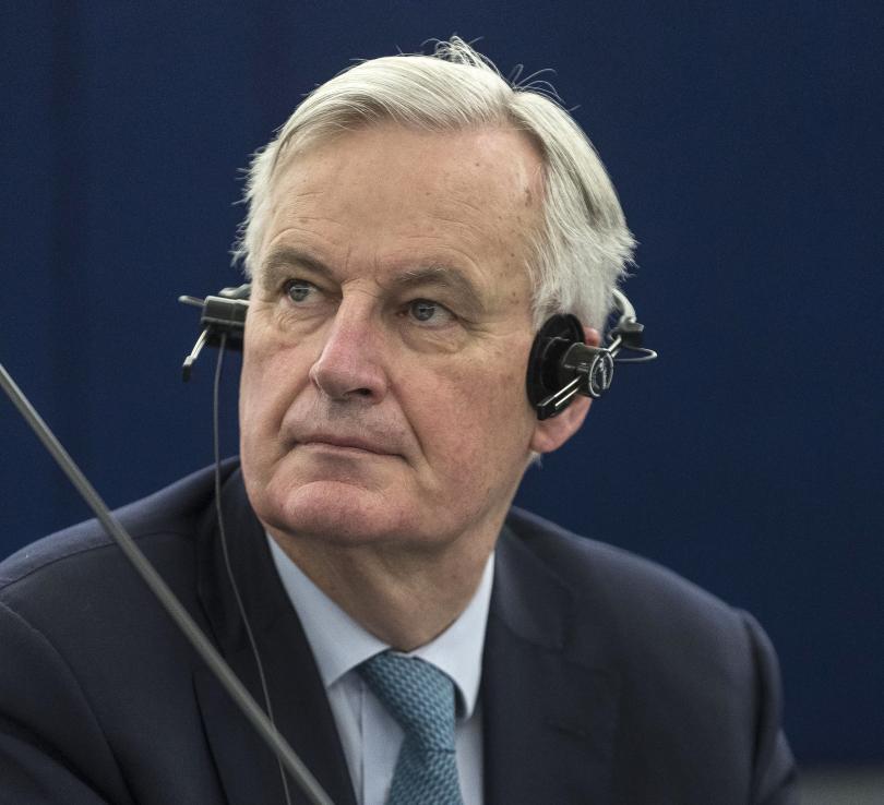 Главният европейски преговарящ Мишел Барние коментира, че рискът Великобритания да