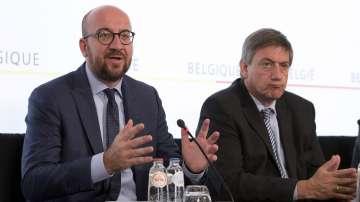 Правителство на малцинството в Белгия след разпадането на управляващата коалиция