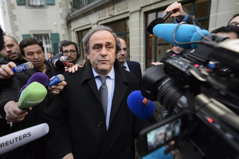 Бившият президент на УЕФА Мишел Платини беше арестуван по подозрения