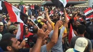 Шиитски демонстранти щурмуваха парламента в Ирак
