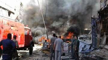 Двоен атентат разтърси сирийската столица Дамаск
