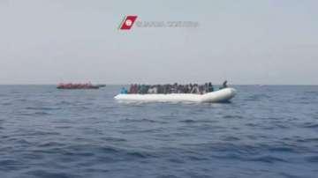 Мигрантският наплив към Италия