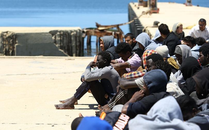 множество мигранти загинаха бягство нелегален затвор либия