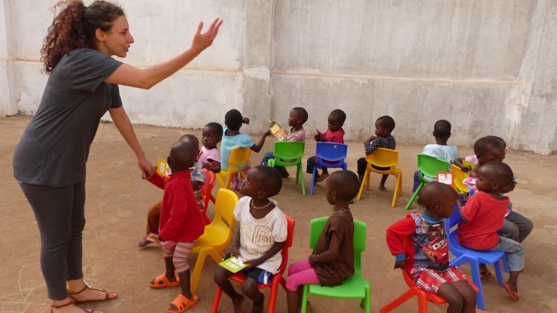 снимка 2 Михаела Стойкова, доброволец в Африка: Не всички африкански държави са опасни