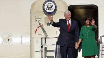 Американският вицепрезидент Майкъл Пенс пристигна в Подгорица