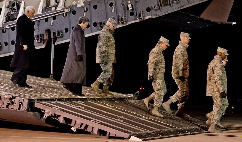 Вицепрезидентът на САЩ Майк Пенс пристигна на необявено посещение в