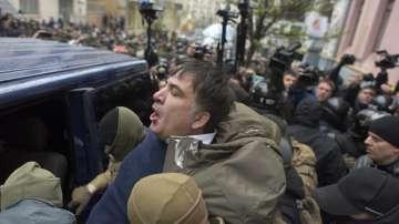 Зрелищен опит за арест на Михаил Саакашвили в Киев