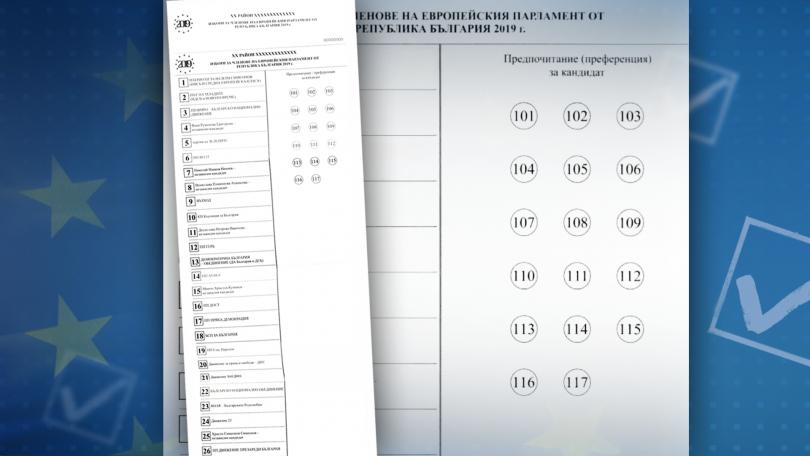 снимка 3 Избираме българските депутати в бъдещия Европейски парламент