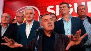 Партията на Мило Джоканович няма да има мнозинство в черногорския парламент