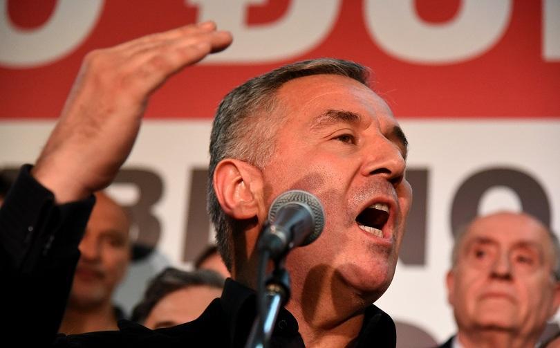 Протести в Черна гора за оставка на президента Джуканович