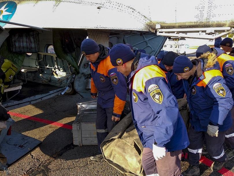 Снимка: Спасители откриха 7 оцелели след инцидента край златодобивна мина в Сибир