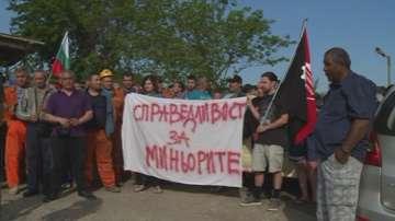 Миньорите от Оброчище прекратиха стачката
