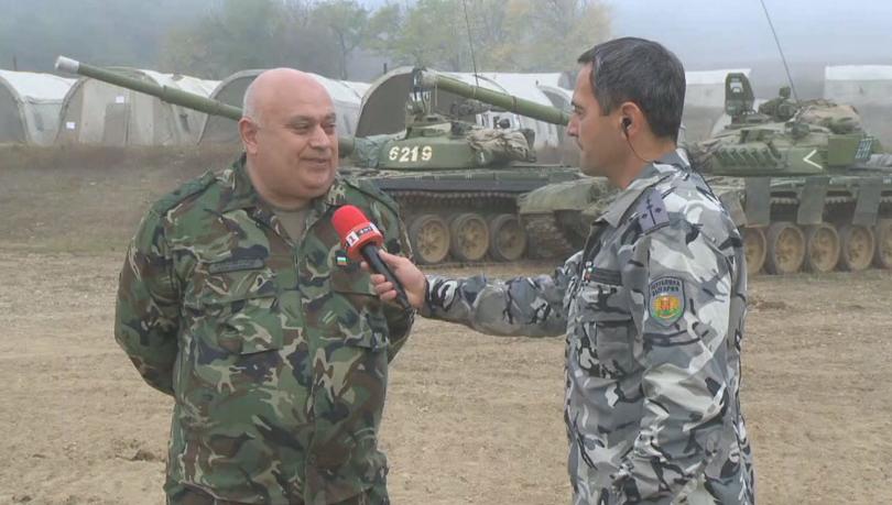 На полигона Ново село днес е заключителният ден от тактическото