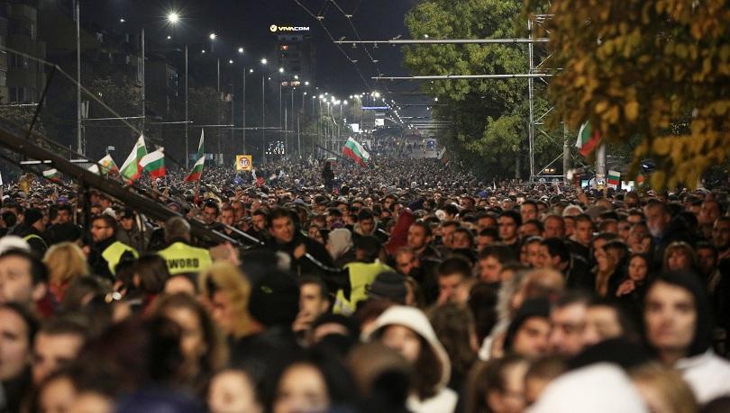 снимка 1 София е блокирана заради митинг-концерта на Орлов мост