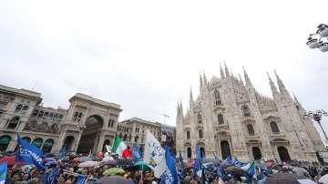 Италианският вицепремиер събра европейски националисти на митинг в Милано