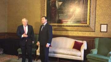 Външният министър Даниел Митов се срещна с британския си колега Борис Джонсън
