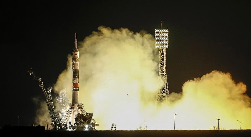 От космодрума Байконур в Казахстан тази вечер успешно беше изстрелян