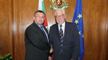 Младен Маринов се срещна с почетния ни консул в провинция Хесен