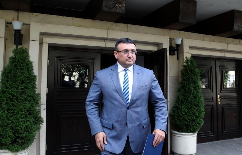 Първа знакова среща на новия министър на вътрешните работи Младен