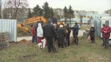 Отново протест в Младост заради застрояването на зелените площи в квартала