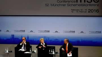 Около 600 политици на конференция по сигурността в Мюнхен