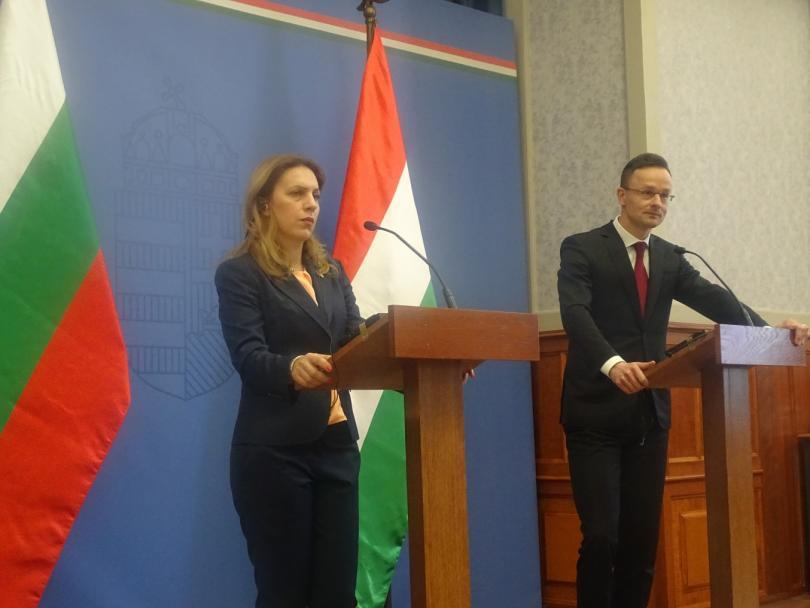 Министърът на външните работи и търговията на Унгария Петер Сиярто