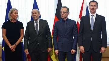 Външните министри на държави от ЕС обсъдиха с Майк Помпео ситуацията с Иран