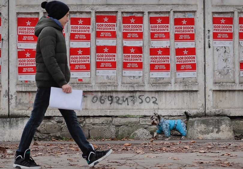 молдова също гласуват президент