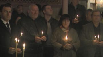 Панихида в памет на загиналите за Родопите от времето на Момчил юнак