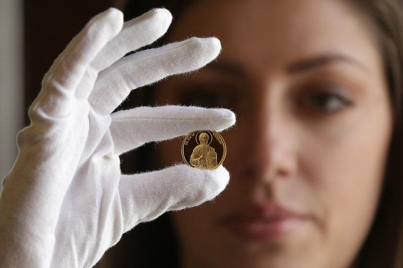 Българската народна банка пуска златна възпоменателна монета