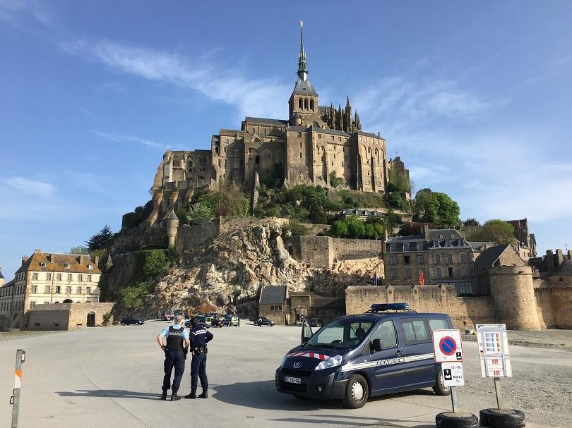 Един от най-посещаваните от туристи обекти във Франция беше евакуиран