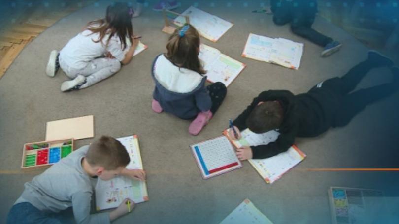Снимка: Пловдивски първокласници успешно се обучават по метода на Монтесори