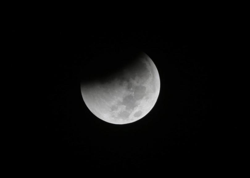 Супер кървава вълча Луна - това явление имаха възможност да