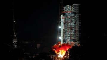 Китай изстреля космическия апарат Чанъе-4 към обратната страна на Луната