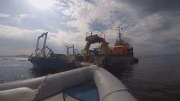 Източиха първите 10 кубични метра водно-мазутна смес от Мопанг