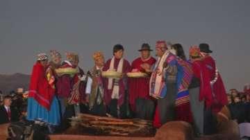 Президентът на Боливия Ево Моралес отбеляза 10 години управление