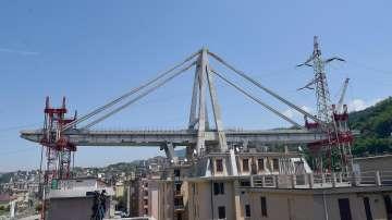 """Започва контролираното взривяване на моста """"Моранди"""" в Генуа"""