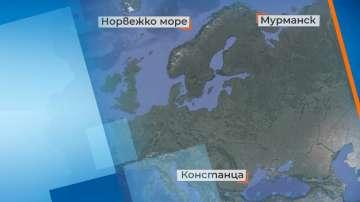 Все още не са открити двамата български моряци, паднали в Норвежко море