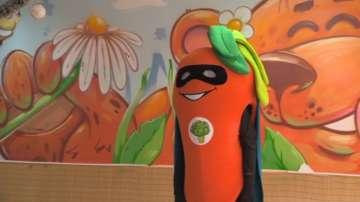Морков супергерой учи децата да не хабят храна