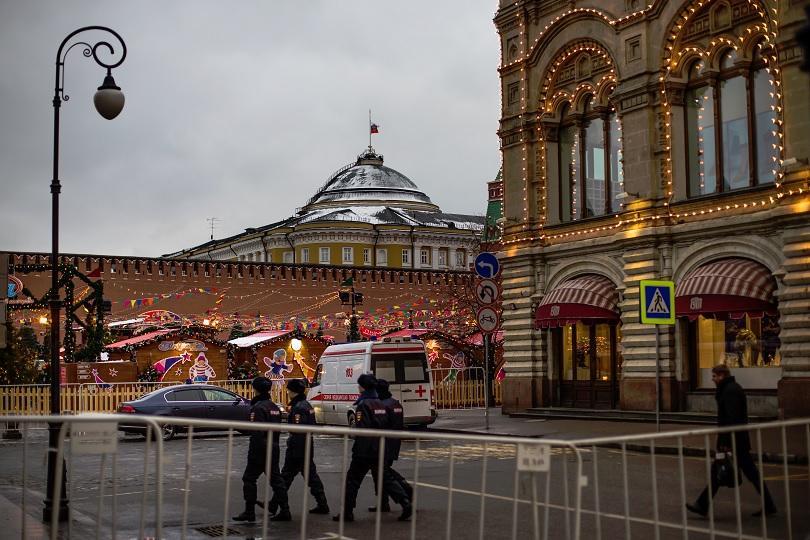 Температурата в Москва падна до -30 градуса