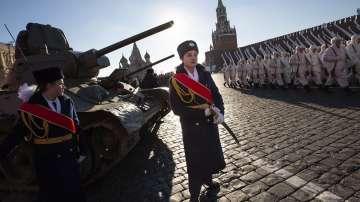 В Москва пресъздадоха исторически парад от 1941 г.