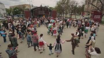 Най-голямото българско хоро в Русия (ВИДЕО)
