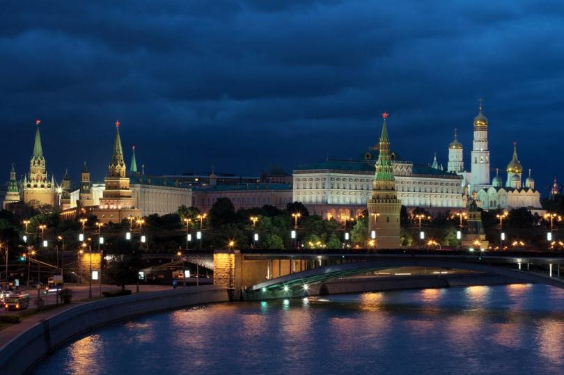 Изглед към р. Москва и Кремъл
