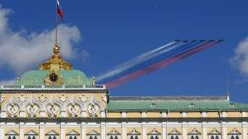 Руската бойна авиация проведе тренировка за парада по случай Деня на победата