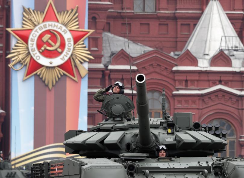 снимка 3 В Москва се проведе традиционният парад за Деня на победата (СНИМКИ)